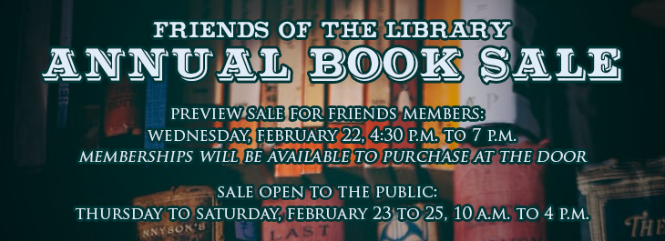 Friends Book Sale 2017