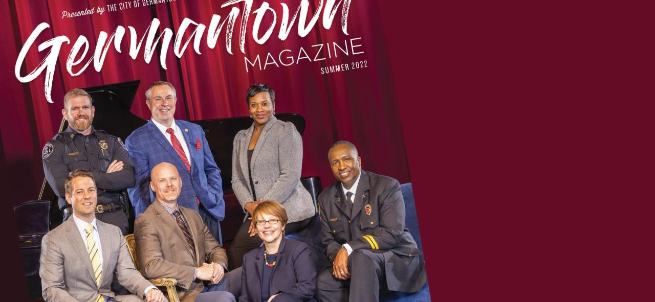 cover of Summer 2018 go! Germantown magazine