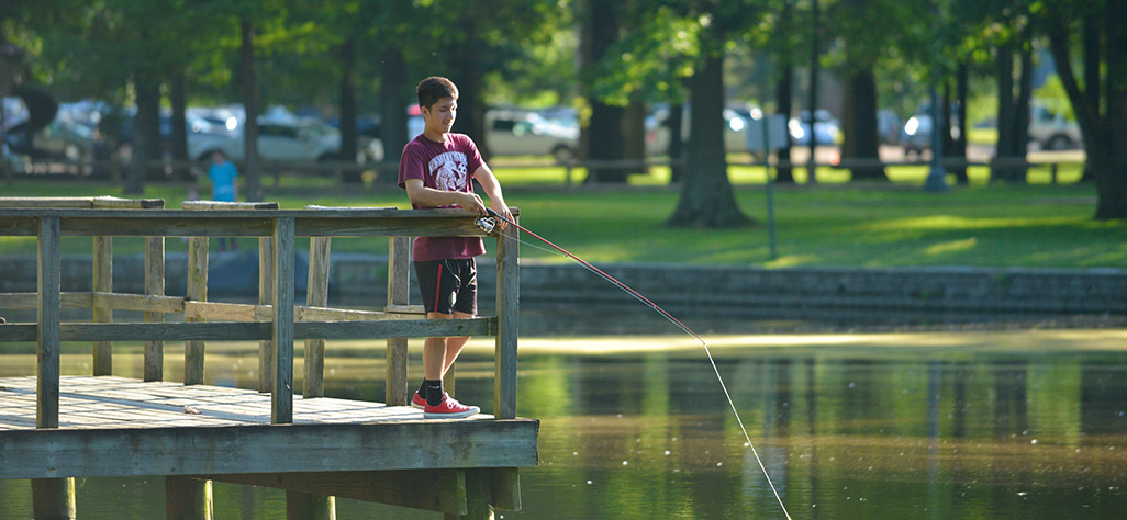 Lakes and Fishing | City of Germantown